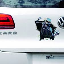 COOL SKULL FUNNY Car Stickers Truck Window Vinyl Decal Graphics ...