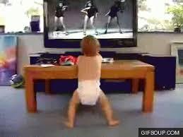 BabyShoulderPress Dancing Baby O