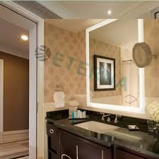 Vanity Table With Lights Around Mirror by Eterna Beauty Salon Fancy Makeup Dressing Table Mirror With Lights