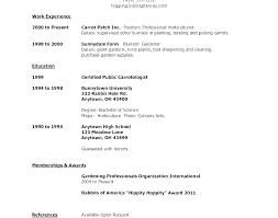 Resume Template Pdf Professional Acting Sample Samples Australian