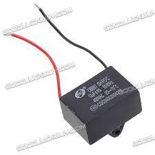Cbb61 Ceiling Fan Capacitor 2 Wire by Cbb61 Ceiling Fan Capacitor Motor 12uf 400v 2 Wires 4 23 Free