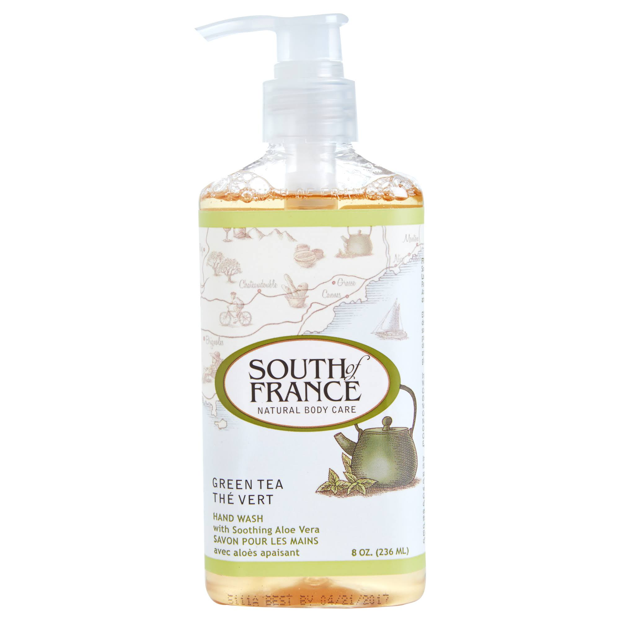South of France Hand Wash - Green Tea, 8oz
