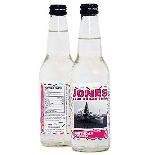 Jones Soda Birthday Cake Cane Sugar Soda