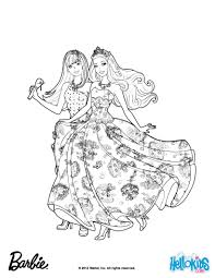 Forever Music Barbie Coloring Sheet More The Princess