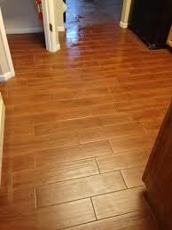 wood look tile in kitchen columbia missouri bathroom remodel