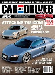 Car and Driver Amazon Magazines