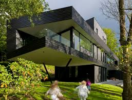 Modern Suburban Villa In Norway - Contemporary Homes And Modern ... Pixilated House Architecture Modern Home Design In Korea Facade Comfortable Contemporary Decor Youtube Unique Ultra Modern Contemporary Home Kerala Design And Pretty Designs The Philippines Exterior Ding Room Decorating Igfusaorg Impressive Plans 4 Architectural House Sq Ft Kerala Floor Plans Philippine With Hd Images Mariapngt Zoenergy Boston Green Architect Passive