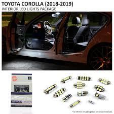 100 Led Interior Lights For Trucks 2017 2018 Toyota Corolla LED Package