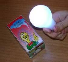 MAGIC LIGHT BULB LEAD FREE UNCLE FESTER LIGHT BULB EXTRA