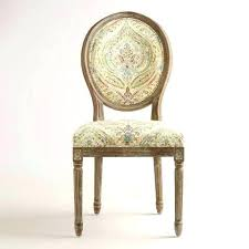 Paisley Dining Chair Covers Round Back Chairs Set Of 2