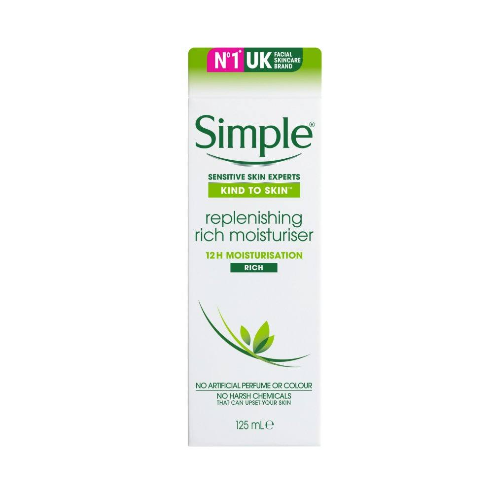 Simple Replenishing Rich Moisturiser - 125ml