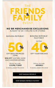 50% Off Banana Republic And 40% BR Factory With Email Code ... Athleta Promo Codes November 2019 Findercom 50 Off Bana Republic And 40 Br Factory With Email Code Sport Chek Coupon April Current Thrive Market Expired Egifter 110 In Home Depot Egiftcards For 100 Republic Outlet Canada Pregnancy Test 60 Sale Items Minimal Exclusions At Canada To Save More Gap Uae Promo Code Up Off Coupon Codes Discount Va Marine Science Museum Coupons Blooming Bulb Catch Of The Day Free Shipping 2018 How 30 Off Coupons Money Saver 70