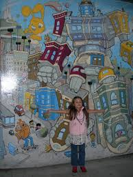 Balmy Alley Murals Mission District by Keelin Elizabeth