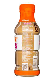 Original Dunkin Donuts Iced Coffee DunkinDonuts 13oz IcedCoffee OG Facts