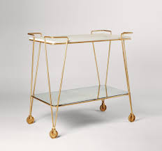Vintage End Table With Lamp Attached by Drinks Trolleys And Bar Carts A Modern Vintage Classic