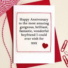 Husband Boyfriend Handmade Anniversary Card