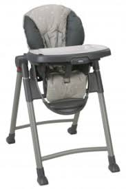 Fosner High Back Chair Instructions by Graco Slim Spaces High Chair Chair Design