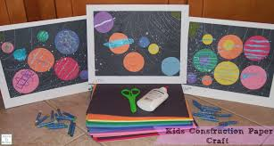 Kids Construction Paper Craft Learn Link WITH LINKY Mama To 6 Arts And Crafts For With