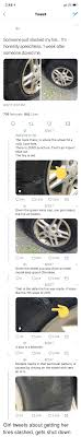 100 Tire By Mark 248 Tweet Someone Just Slashed My Im Honestly