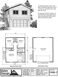 30 X 30 With Loft Floor Plans by Oversized 2 Car Garage Plan With Two Story 1440 1 24 U0027 X 30 U0027 By