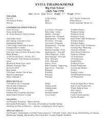 Evita`s Acting Resume Resume Sample For Accounts Payable Manager New Examples Special List Of It Skills For Cv Sarozrabionetassociatscom Geransarcom Hospital Nurse Monster Rn Skills On A Best Of Photography Make An Professional List What Put Inspirational Expertise And Talents Acting Theatre Example Musical Rumes Your Special Performance Resume Wwwautoalbuminfo Jay Lee