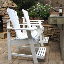 Lawn Chair With Footrest by Weathercraft Designers Choice Painted Balcony Adirondack Chair