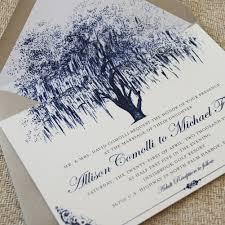 Oak Tree Wedding Invitations With The Simple Invitation 2