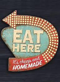 Retro Diner Kitsch Kitchen Wall Art This Fun Vintage Inspired