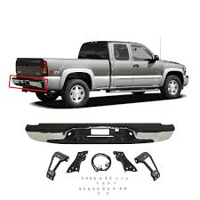 Amazon.com: 99-07 SILVERADO / SIRRA 1500 2500 FLEETSIDE REAR ... Rear Bumpers Rimrock Mfg Front End Accsories Raceline Bumper With Backup Sensors Mounts Rpg Offroad Shop Prunner Winch Ready Stylish Heavy Standard Chrome Replacement 199714 Ford F150 1997 American Built Truck Equipment Defender Bumpers888 6670055dallas Tx Removing Stock Jeep Jk Fenders Bumpers For Something A Little Road Armor Off Duty Dakota Hills Flatbeds Bodies Tool Move On Twitter We Love Our Square Bodied Trucks Https Frontier Gearfrontier Gear