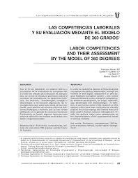 PDF LAS COMPETENCIAS LABORALES Y SU EVALUACIÓN MEDIANTE EL MODELO