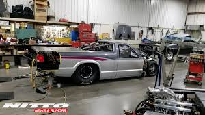 100 S10 Drag Truck Larry Larson Goes After Street Outlaws RacePages Digital