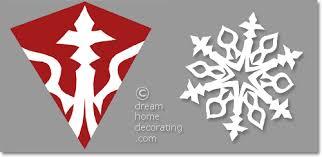 Make Paper Snowflake Patterns Step By Step
