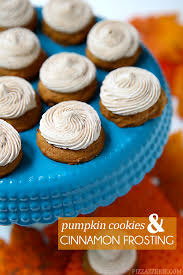 Libbys Soft Pumpkin Cookie Recipe by Mini Pumpkin Cookies With Cinnamon Frosting Pizzazzerie