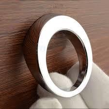 Modern Simple Single hole small knob Round zinc alloy bright
