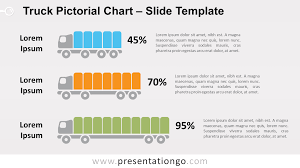 100 Free Truck Pictorial Chart For PowerPoint And Google Slides