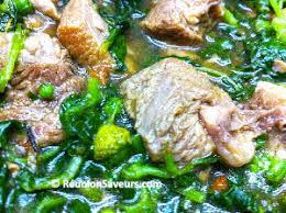 recette de cuisine malagasy recette romazava recette malgache brède mafana mada