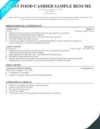 Restaurant Manager Sample Resume Fast Food Supervisor Assistant Store Examples Best