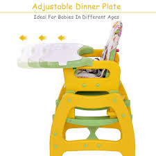 Costway 3 In 1 Baby High Chair Convertible Play Table Seat Booster Toddler  Feeding Tray Graco Contempo Benny Bell High Chair Cxc Toys Babies Alpha Living Height Adjustable Foldable Baby Seat Bay0224tq High Chair Trend Go Lite 5in1 Feeding Center Rose Details About Foxhunter Portable Infant Child Folding Bib Bhc02 Badger Basket Envee With Playtable Pink And White Wooden For Toddlers Harness Removable Tray Legs Children Eat Mulfunctional Ciao The Best Chairs Your Baby Older Kids