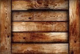 Fragile Wooden Box Vector Background