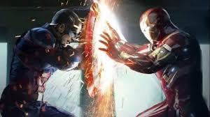 Iron Man And Captain America In Civil