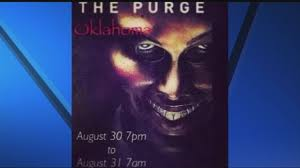 Halloween Purge 2 Mask by Purge Threat In Oklahoma Getting Serious Attention From Police
