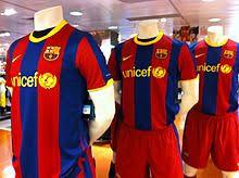maillot du fc barcelone wikipédia