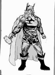 Thor Black and White by uwontlikme on DeviantArt