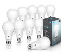 triangle bulbs pack of 10 led dimmable 16 watt a21 led bulb