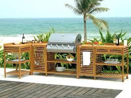 meuble cuisine exterieure bois meuble cuisine exterieure bois quand la cuisine prend ses