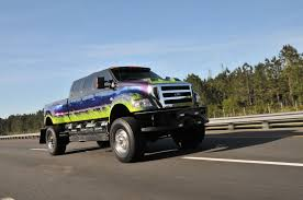 Show 'n Tow 2007 Ford F-650: When Really Big Is Not Quite Enough Shaqs New Ford F650 Extreme Costs A Cool 124k The Plushest And Coliest Luxury Pickup Trucks For 2018 2013 Used Super Duty F350 Srw Platinum At Country Auto Group Breaking The Sixfigure Barrier Fords F450 Limited Can Set You Gallery Sultan Of Johors Super Truck Paul Tan Image 2015 Leveled Ford Extreme Super Truck Cars Vans Utes On Carousell Show N Tow 2007 When Really Big Is Not Quite Enough 2008 F550 Drw Crew Cab Flatbed 4x4 Fleet Roush Performance Unleashes Beast In F250 2017 Xlt 4x4 Truck Sale In Pauls