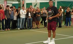 mont aignan tennis jo wilfried tsonga une à mont aignan