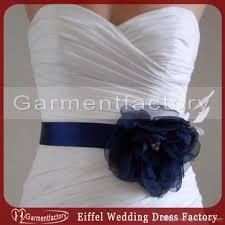 2017 spring 2016 bridal accessories sash custom made royal blue