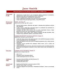 Resume Profile Brick Red Statement For Customer Service Superb Example