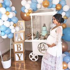 Baby Shower Table Decorations For A Boy